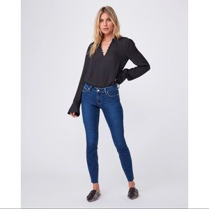 Paige Verdugo Ankle Cropped Skinny Jeans